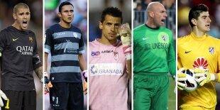 Top-5 porteros Liga BBVA (Primera vuelta)
