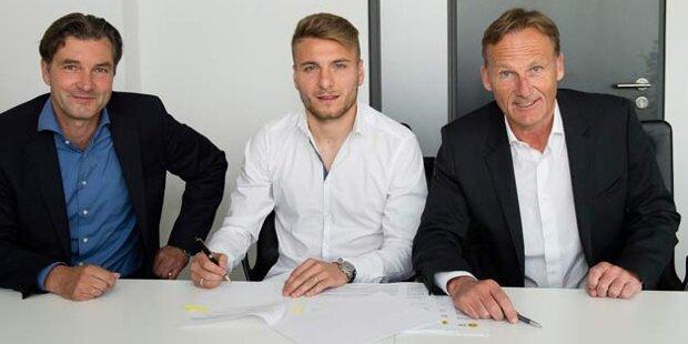 Ciro Immobile ficha por el Borussia Dortmund