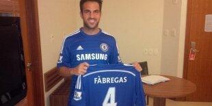 Cesc Fábregas pone rumbo al Chelsea de Mourinho