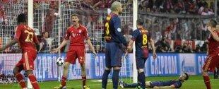 El Bayern arrolla al Barcelona en la ida de semifinales