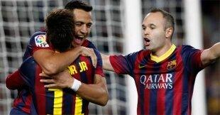 Gol de Alexis, punto para el Barcelona