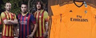 Nuevas camisetas 2013-14 para FC Barcelona y Real Madrid